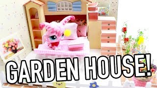 miniature two floor house with garden! DIY kit review