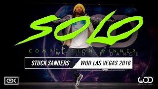 Stuck Sanders | SOLO Contest Winner | World of Dance Las Vegas 2016 | #WODVEGAS16