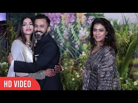 Xxx Mp4 Kajol At Sonam Kapoor S Grand Wedding Party Sonam Kapoor Anand Ahuja Marriage Party 3gp Sex