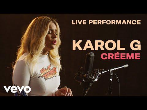 Karol G Créeme Live Perfomance Vevo