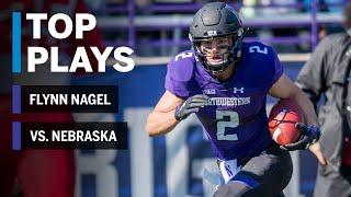 Top Plays: Flynn Nagel Highlights vs. Nebraska Cornhuskers | Northwestern | Big Ten Football