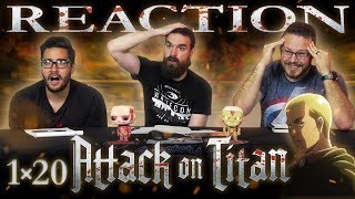 "Attack on Titan 1x20 REACTION!! ""Erwin Smith: The 57th Exterior Scouting Mission, Part 4"""