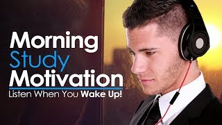 MORNING STUDY MOTIVATION - WAKE UP AND STUDY HARD! Best Motivational Video for Success & Study