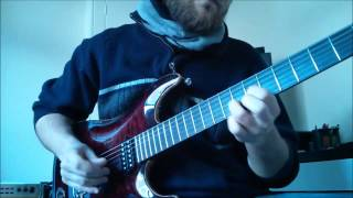 Nirvana   About a Girl (Guitar solo lesson)