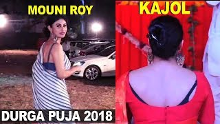 Kajol, Mouni Roy on Durga Puja 2018, Katrina Kaif, Bollywood actress