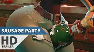SAUSAGE PARTY - Promo Trailer '4TH OF JULY' (2016)