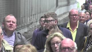 Madness for UK X Factor winner James Arthur as he arrives in Paris