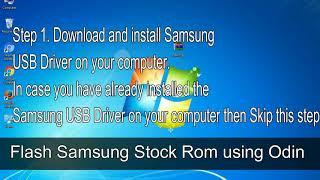 How to Samsung Galaxy Tab E SM T561 Firmware Update (Fix ROM)
