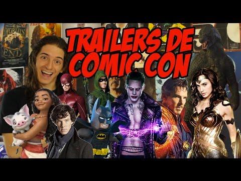 TRAILERS! xXX, Moana, Godzilla, Flash, Arrow, Marvel, TWD