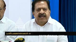 UDF to start public protest on Sabarimala issues