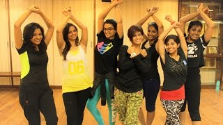 Zumba Fitness Routine La Mordidita Ricky Martin by Vijaya ( Full Video)
