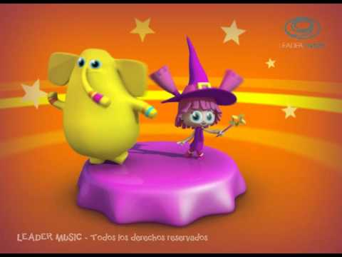 La Brujita Tapita Rondas y Canciones Infantiles 3D