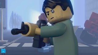 LEGO BATTLE Lego Zombie Fighters lego zombie apocalypse animation episode