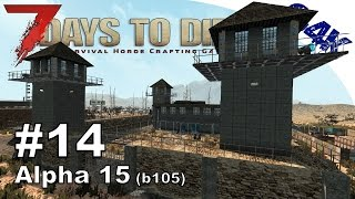 7 Days To Die   PRISON, MINI BIKE & BEARS   7 Days to Die Gameplay Alpha 15   S09E14