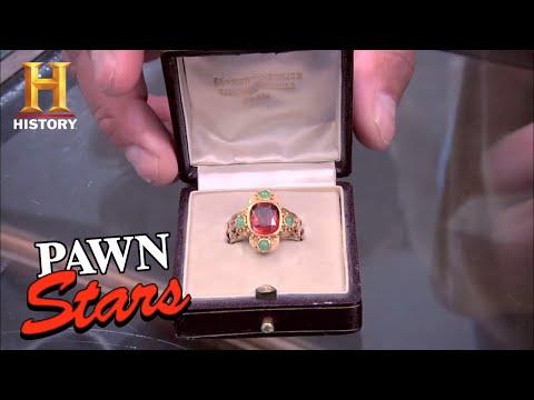 Pawn Stars 19th Century Roman Catholic Cardinal Ring Season 7 History