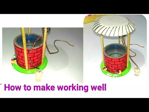 Xxx Mp4 How To Make Water Well Model Waste Material Ideas Best Out Of Waste Things For Kids Project 3gp Sex