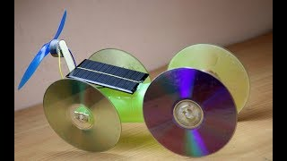 How to make SOLAR powered CAR