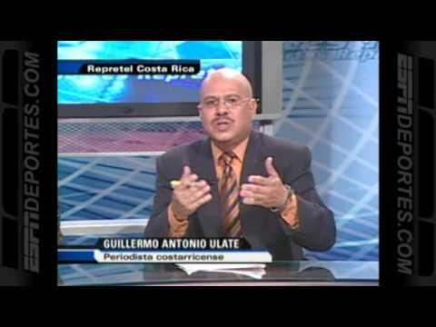 Mensaje para Futbol Picante de comentaristas de Costa Rica