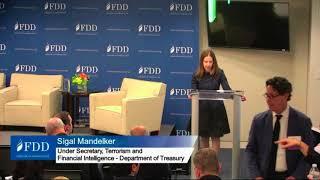 US Treasury Under Secretary speaks at FDD on Iran