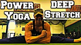Ninja Power Yoga Core and Flexibility Workout - Strength and Stretch (part 3 of 3)