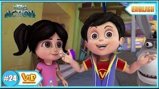 Vir The Robot Boy   The Lady Jinn - part 1    English episodes for Kids