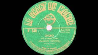 """Shoro ""- Solo de Guitare par Atahualpa Yupanqui - 1950"