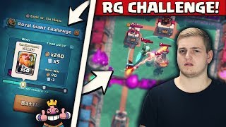 ROYAL GIANT vs ROYAL GIANT! | Witzige + Spannende Matches! | Jeden Mittwoch neue Herausforderung!