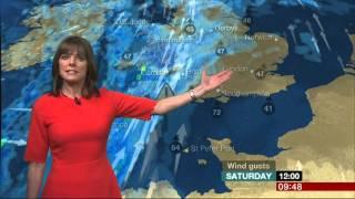 Louise Lear BBC Breakfast Weather 2016 02 06
