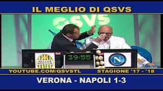 QSVS - I GOL DI VERONA - NAPOLI 1-3 - TELELOMBARDIA / TOP CALCIO 24