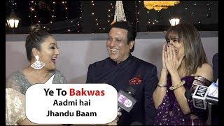 Govinda ji celebrate Diwali with his family | Son , Daughter  and Wife Sunita