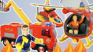 FEUERWEHRMANN SAM Feuerwehr Fahrzeuge mit Jupiter, Wallaby und Juno deutsch - Folge 2017 Fireman