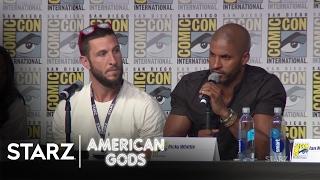 American Gods   2016 San Diego Comic Con Panel   STARZ