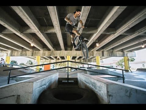 Ooti Billeaud BMX Parisite DIY Skatepark New Orleans