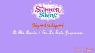 (AUDIO) Shimmer y Shine - At The Arcade (Español de España)  -720p-