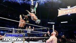 The Lucha Dragons vs. Sheamus & King Barrett: SmackDown, March 10, 2016
