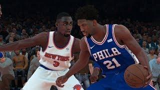NBA Today 3/15 - Philadelphia 76ers vs New York Knicks   Full Game NBA Highlights   NBA 2K18