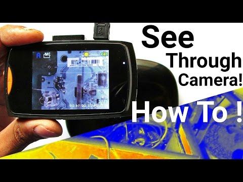 DIY Infrared Camera and Thermal Camera for Night Vision See Through Camera