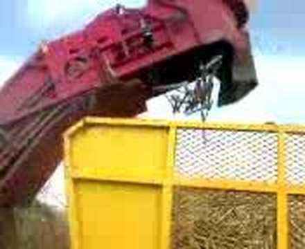colheitadeira de cana