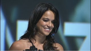 [Deauville 2017] tribute to Michelle Rodriguez