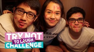 Beby Tsabina - Try Not To Laugh Challenge With my Brothers