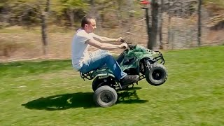 110cc Chinese ATV Review