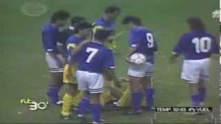 America 3 Cruz Azul 4, Cuartos vuelta, Temp 92-93, Estadio Azteca, 15Mayo1993