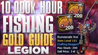 WoW Gold Farming: Runscale Koi Farming | 10,000+ Gold Fishing Guide!