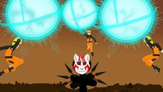 Naruto vs Anbu Stick Fight- JonaStick