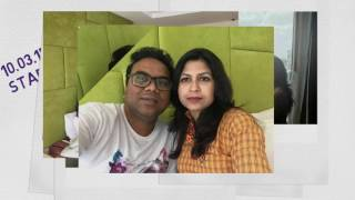 Bangladeshi TV-star Babor & his lovely wife Sabrina's photo compilation.(Bangkok tour 2017 )