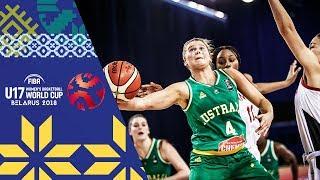 LIVE 🔴- Canada v Australia - FIBA U17 Women's Basketball World Cup 2018