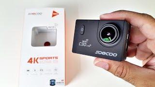 4K Ultra HD Waterproof Action Camera - WiFi - HDMI - Remote Control by SOOCOO C30/R