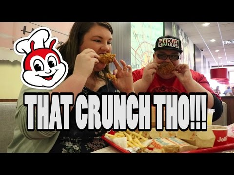 TRYING JOLLIBEE FOR THE FIRST TIME! HOUSTON, TX JOLLIBEE MUKBANG!