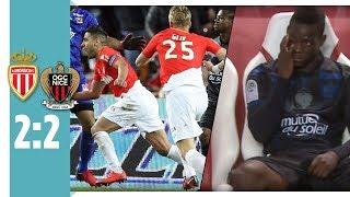 Falcao schockt Balotelli in der Nachspielzeit | AS Monaco - OGC Nizza 2:2