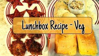 4 Indian Lunchbox Ideas I Kids Lunchbox / Breakfast Recipes - Veg II Lunchbox and Breakfast Recipes